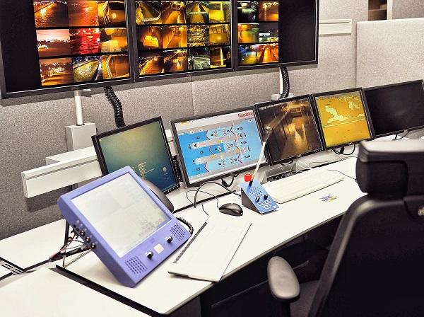 Bediencentrale Maasbracht (monitoren)